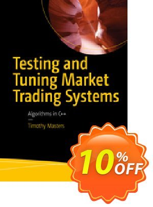 Testing and Tuning Market Trading Systems (Masters) discount coupon Testing and Tuning Market Trading Systems (Masters) Deal - Testing and Tuning Market Trading Systems (Masters) Exclusive Easter Sale offer for iVoicesoft