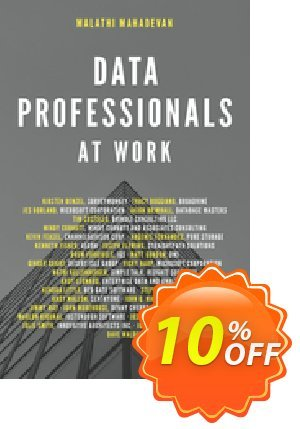 Data Professionals at Work (Mahadevan) Coupon discount Data Professionals at Work (Mahadevan) Deal. Promotion: Data Professionals at Work (Mahadevan) Exclusive Easter Sale offer for iVoicesoft