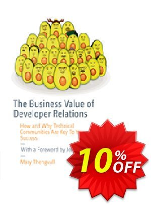 The Business Value of Developer Relations (Thengvall) 優惠券,折扣碼 The Business Value of Developer Relations (Thengvall) Deal,促銷代碼: The Business Value of Developer Relations (Thengvall) Exclusive Easter Sale offer for iVoicesoft