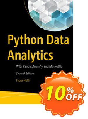 Python Data Analytics (Nelli) 優惠券,折扣碼 Python Data Analytics (Nelli) Deal,促銷代碼: Python Data Analytics (Nelli) Exclusive Easter Sale offer for iVoicesoft