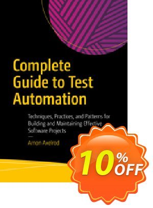 Complete Guide to Test Automation (Axelrod) Coupon discount Complete Guide to Test Automation (Axelrod) Deal. Promotion: Complete Guide to Test Automation (Axelrod) Exclusive Easter Sale offer for iVoicesoft