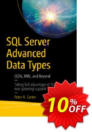 SQL Server Advanced Data Types (Carter) discount coupon SQL Server Advanced Data Types (Carter) Deal - SQL Server Advanced Data Types (Carter) Exclusive Easter Sale offer for iVoicesoft