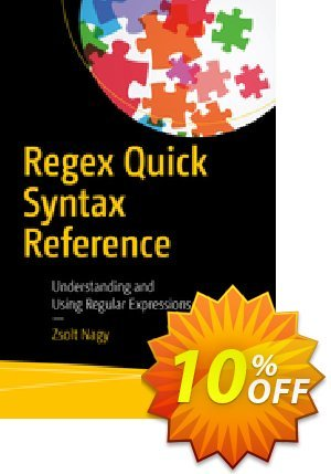 Regex Quick Syntax Reference (Nagy) discount coupon Regex Quick Syntax Reference (Nagy) Deal - Regex Quick Syntax Reference (Nagy) Exclusive Easter Sale offer for iVoicesoft