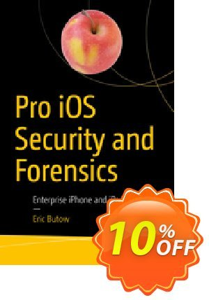 Pro iOS Security and Forensics (Butow) 프로모션 코드 Pro iOS Security and Forensics (Butow) Deal 프로모션: Pro iOS Security and Forensics (Butow) Exclusive Easter Sale offer for iVoicesoft