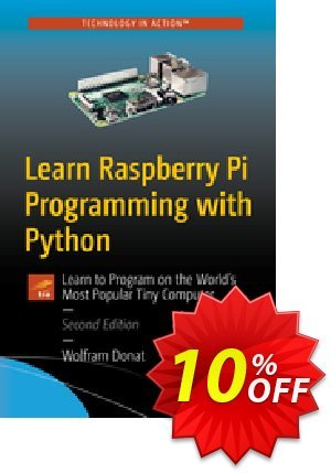 Learn Raspberry Pi Programming with Python (Donat) discount coupon Learn Raspberry Pi Programming with Python (Donat) Deal - Learn Raspberry Pi Programming with Python (Donat) Exclusive Easter Sale offer for iVoicesoft