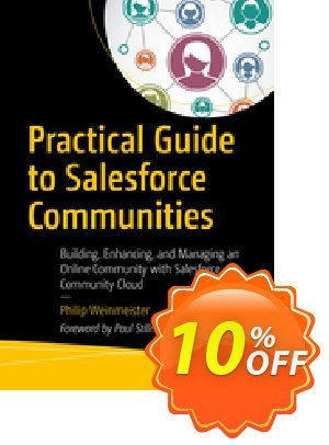 Practical Guide to Salesforce Communities (Weinmeister) 프로모션 코드 Practical Guide to Salesforce Communities (Weinmeister) Deal 프로모션: Practical Guide to Salesforce Communities (Weinmeister) Exclusive Easter Sale offer for iVoicesoft