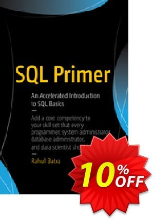 SQL Primer (Batra) 프로모션 코드 SQL Primer (Batra) Deal 프로모션: SQL Primer (Batra) Exclusive Easter Sale offer for iVoicesoft