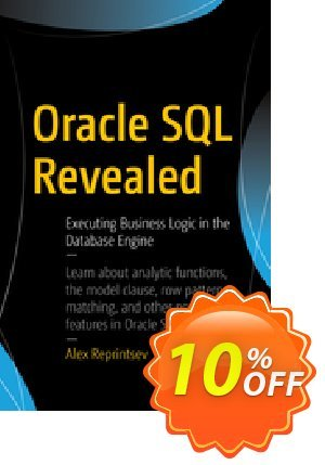 Oracle SQL Revealed (Reprintsev) discount coupon Oracle SQL Revealed (Reprintsev) Deal - Oracle SQL Revealed (Reprintsev) Exclusive Easter Sale offer for iVoicesoft