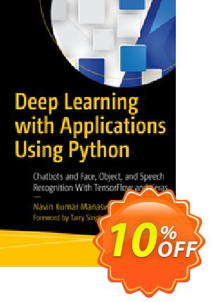 Deep Learning with Applications Using Python (Manaswi) discount coupon Deep Learning with Applications Using Python (Manaswi) Deal - Deep Learning with Applications Using Python (Manaswi) Exclusive Easter Sale offer for iVoicesoft