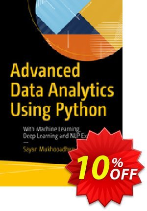 Advanced Data Analytics Using Python (Mukhopadhyay) 프로모션 코드 Advanced Data Analytics Using Python (Mukhopadhyay) Deal 프로모션: Advanced Data Analytics Using Python (Mukhopadhyay) Exclusive Easter Sale offer for iVoicesoft
