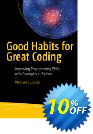Good Habits for Great Coding (Stueben) discount coupon Good Habits for Great Coding (Stueben) Deal - Good Habits for Great Coding (Stueben) Exclusive Easter Sale offer for iVoicesoft