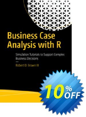 Business Case Analysis with R (Brown) discount coupon Business Case Analysis with R (Brown) Deal - Business Case Analysis with R (Brown) Exclusive Easter Sale offer for iVoicesoft