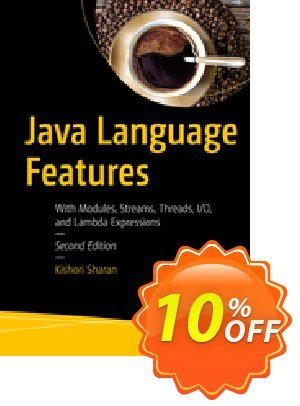 Java Language Features (Sharan) discount coupon Java Language Features (Sharan) Deal - Java Language Features (Sharan) Exclusive Easter Sale offer for iVoicesoft