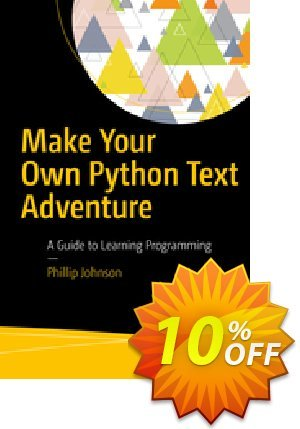 Make Your Own Python Text Adventure (Johnson)割引コード・Make Your Own Python Text Adventure (Johnson) Deal キャンペーン:Make Your Own Python Text Adventure (Johnson) Exclusive Easter Sale offer for iVoicesoft