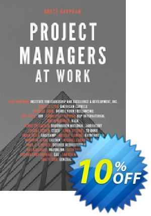 Project Managers at Work (Harpham) discount coupon Project Managers at Work (Harpham) Deal - Project Managers at Work (Harpham) Exclusive Easter Sale offer for iVoicesoft