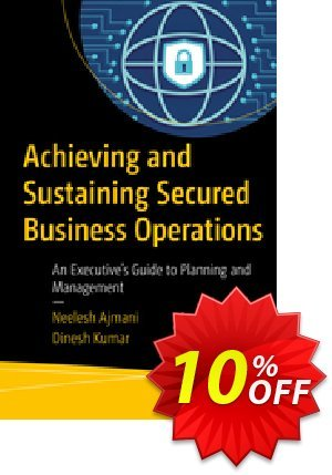 Achieving and Sustaining Secured Business Operations (Ajmani) discount coupon Achieving and Sustaining Secured Business Operations (Ajmani) Deal - Achieving and Sustaining Secured Business Operations (Ajmani) Exclusive Easter Sale offer for iVoicesoft