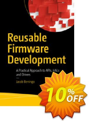 Reusable Firmware Development (Beningo)割引コード・Reusable Firmware Development (Beningo) Deal キャンペーン:Reusable Firmware Development (Beningo) Exclusive Easter Sale offer for iVoicesoft
