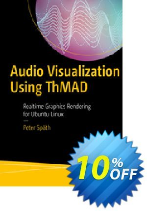 Audio Visualization Using ThMAD (Späth) discount coupon Audio Visualization Using ThMAD (Späth) Deal - Audio Visualization Using ThMAD (Späth) Exclusive Easter Sale offer for iVoicesoft