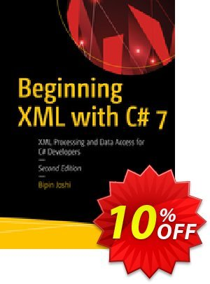 Beginning XML with C# 7 (Joshi) discount coupon Beginning XML with C# 7 (Joshi) Deal - Beginning XML with C# 7 (Joshi) Exclusive Easter Sale offer for iVoicesoft