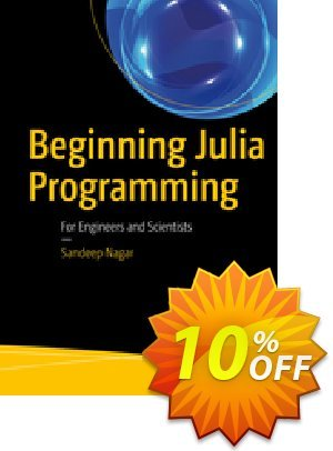 Beginning Julia Programming (Nagar) discount coupon Beginning Julia Programming (Nagar) Deal - Beginning Julia Programming (Nagar) Exclusive Easter Sale offer for iVoicesoft
