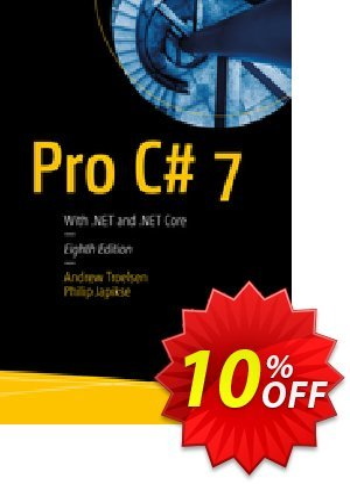 Pro C# 7 (Troelsen) 優惠券,折扣碼 Pro C# 7 (Troelsen) Deal,促銷代碼: Pro C# 7 (Troelsen) Exclusive Easter Sale offer for iVoicesoft
