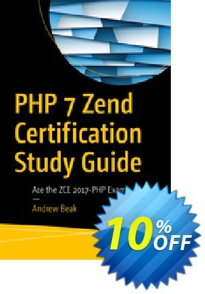 PHP 7 Zend Certification Study Guide (Beak) 프로모션 코드 PHP 7 Zend Certification Study Guide (Beak) Deal 프로모션: PHP 7 Zend Certification Study Guide (Beak) Exclusive Easter Sale offer for iVoicesoft