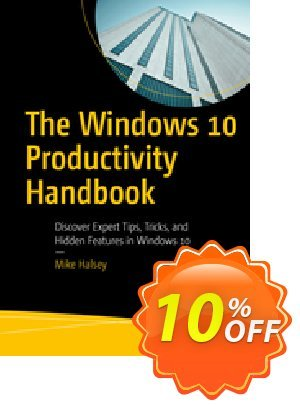 The Windows 10 Productivity Handbook (Halsey) discount coupon The Windows 10 Productivity Handbook (Halsey) Deal - The Windows 10 Productivity Handbook (Halsey) Exclusive Easter Sale offer for iVoicesoft