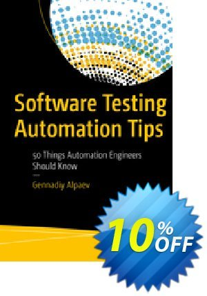 Software Testing Automation Tips (Alpaev) 프로모션 코드 Software Testing Automation Tips (Alpaev) Deal 프로모션: Software Testing Automation Tips (Alpaev) Exclusive Easter Sale offer for iVoicesoft