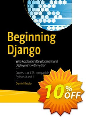 Beginning Django (Rubio) 優惠券,折扣碼 Beginning Django (Rubio) Deal,促銷代碼: Beginning Django (Rubio) Exclusive Easter Sale offer for iVoicesoft