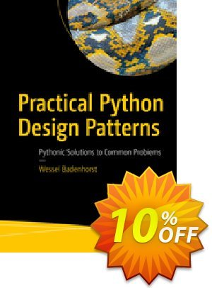 Practical Python Design Patterns (Badenhorst) 優惠券,折扣碼 Practical Python Design Patterns (Badenhorst) Deal,促銷代碼: Practical Python Design Patterns (Badenhorst) Exclusive Easter Sale offer for iVoicesoft