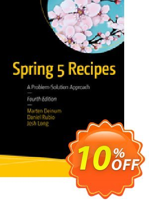 Spring 5 Recipes (Deinum) discount coupon Spring 5 Recipes (Deinum) Deal - Spring 5 Recipes (Deinum) Exclusive Easter Sale offer for iVoicesoft