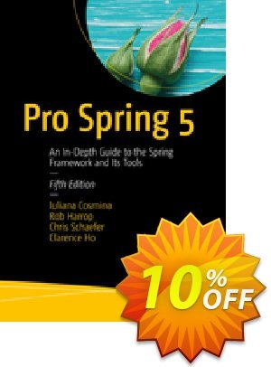 Pro Spring 5 (Cosmina) discount coupon Pro Spring 5 (Cosmina) Deal - Pro Spring 5 (Cosmina) Exclusive Easter Sale offer for iVoicesoft