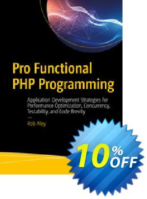 Pro Functional PHP Programming (Aley) discount coupon Pro Functional PHP Programming (Aley) Deal - Pro Functional PHP Programming (Aley) Exclusive Easter Sale offer for iVoicesoft