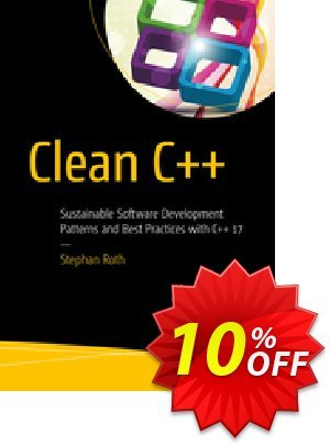 Clean C++ (Roth) discount coupon Clean C++ (Roth) Deal - Clean C++ (Roth) Exclusive Easter Sale offer for iVoicesoft