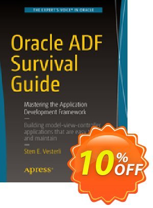 Oracle ADF Survival Guide (Vesterli) discount coupon Oracle ADF Survival Guide (Vesterli) Deal - Oracle ADF Survival Guide (Vesterli) Exclusive Easter Sale offer for iVoicesoft