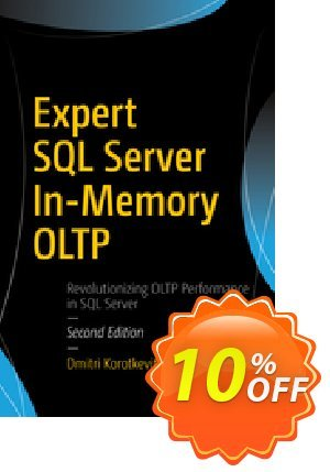 Expert SQL Server In-Memory OLTP (Korotkevitch)割引コード・Expert SQL Server In-Memory OLTP (Korotkevitch) Deal キャンペーン:Expert SQL Server In-Memory OLTP (Korotkevitch) Exclusive Easter Sale offer for iVoicesoft