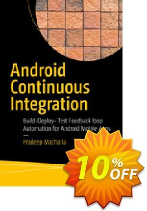 Android Continuous Integration (Macharla) Gutschein rabatt Android Continuous Integration (Macharla) Deal Aktion: Android Continuous Integration (Macharla) Exclusive Easter Sale offer for iVoicesoft