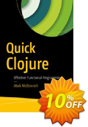 Quick Clojure (McDonnell) 優惠券,折扣碼 Quick Clojure (McDonnell) Deal,促銷代碼: Quick Clojure (McDonnell) Exclusive Easter Sale offer for iVoicesoft