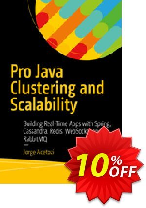 Pro Java Clustering and Scalability (Acetozi) discount coupon Pro Java Clustering and Scalability (Acetozi) Deal - Pro Java Clustering and Scalability (Acetozi) Exclusive Easter Sale offer for iVoicesoft
