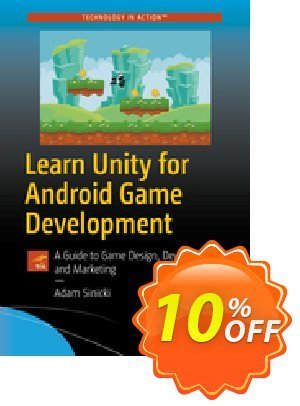 Learn Unity for Android Game Development (Sinicki) discount coupon Learn Unity for Android Game Development (Sinicki) Deal - Learn Unity for Android Game Development (Sinicki) Exclusive Easter Sale offer for iVoicesoft