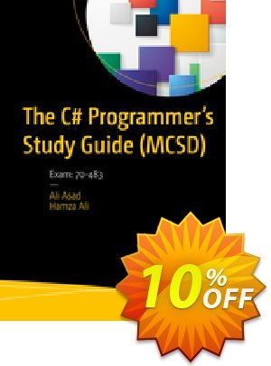 The C# Programmer's Study Guide (MCSD) (Asad) discount coupon The C# Programmer's Study Guide (MCSD) (Asad) Deal - The C# Programmer's Study Guide (MCSD) (Asad) Exclusive Easter Sale offer for iVoicesoft