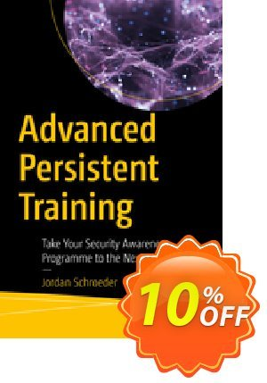 Advanced Persistent Training (Schroeder) Coupon discount Advanced Persistent Training (Schroeder) Deal. Promotion: Advanced Persistent Training (Schroeder) Exclusive Easter Sale offer for iVoicesoft