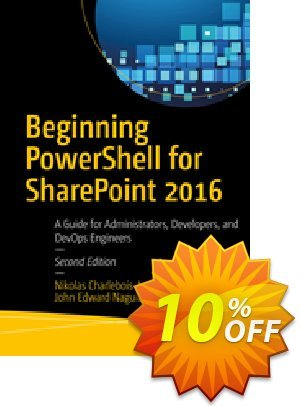 Beginning PowerShell for SharePoint 2016 (Charlebois-Laprade) discount coupon Beginning PowerShell for SharePoint 2016 (Charlebois-Laprade) Deal - Beginning PowerShell for SharePoint 2016 (Charlebois-Laprade) Exclusive Easter Sale offer for iVoicesoft
