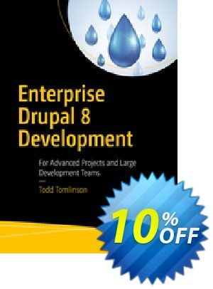 Enterprise Drupal 8 Development (Tomlinson) 프로모션 코드 Enterprise Drupal 8 Development (Tomlinson) Deal 프로모션: Enterprise Drupal 8 Development (Tomlinson) Exclusive Easter Sale offer for iVoicesoft