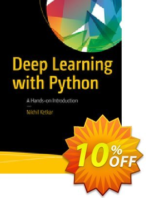Deep Learning with Python (Ketkar) 優惠券,折扣碼 Deep Learning with Python (Ketkar) Deal,促銷代碼: Deep Learning with Python (Ketkar) Exclusive Easter Sale offer for iVoicesoft
