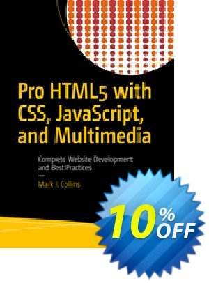 Pro HTML5 with CSS, JavaScript, and Multimedia (Collins) 優惠券,折扣碼 Pro HTML5 with CSS, JavaScript, and Multimedia (Collins) Deal,促銷代碼: Pro HTML5 with CSS, JavaScript, and Multimedia (Collins) Exclusive Easter Sale offer for iVoicesoft