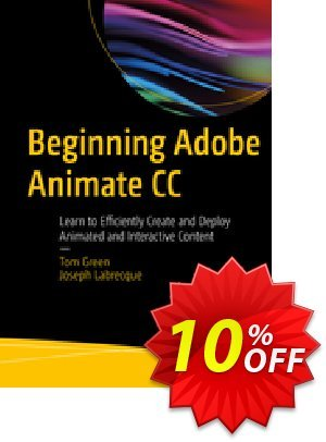 Beginning Adobe Animate CC (GREEN) discount coupon Beginning Adobe Animate CC (GREEN) Deal - Beginning Adobe Animate CC (GREEN) Exclusive Easter Sale offer for iVoicesoft