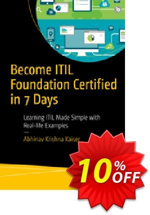 Become ITIL Foundation Certified in 7 Days (Kaiser) 프로모션 코드 Become ITIL Foundation Certified in 7 Days (Kaiser) Deal 프로모션: Become ITIL Foundation Certified in 7 Days (Kaiser) Exclusive Easter Sale offer for iVoicesoft