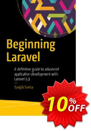 Beginning Laravel (Sinha) discount coupon Beginning Laravel (Sinha) Deal - Beginning Laravel (Sinha) Exclusive Easter Sale offer for iVoicesoft