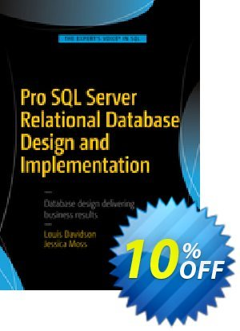 Pro SQL Server Relational Database Design and Implementation (Davidson) Coupon discount Pro SQL Server Relational Database Design and Implementation (Davidson) Deal. Promotion: Pro SQL Server Relational Database Design and Implementation (Davidson) Exclusive Easter Sale offer for iVoicesoft